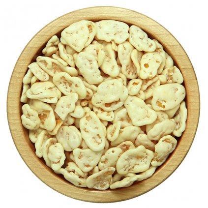 Cornflakes v bílé čokoládě