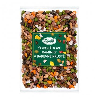 Čokoládové kamínky v barevné krustě 1kg