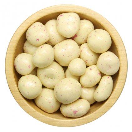 Lyofilizované maliny v bílé čokoládě 1kg