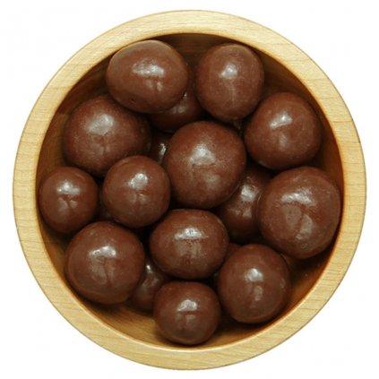 Maliny mrazem sušené v mléčné čokoládě 1kg