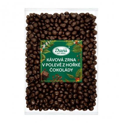 Kávová zrna v polevě z hořké čokolády 1kg