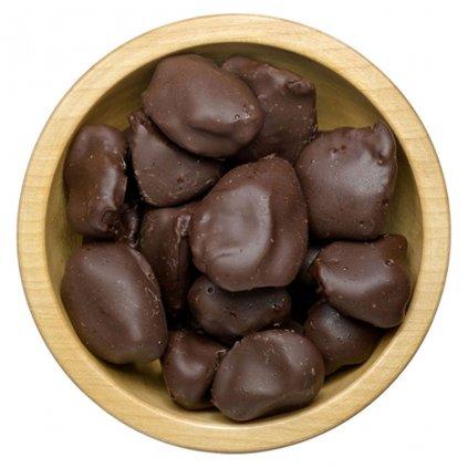 Švestky celé v polevě z hořké čokolády 1kg