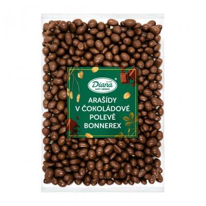 Arašídy v čokoádové polevě Bonnerex