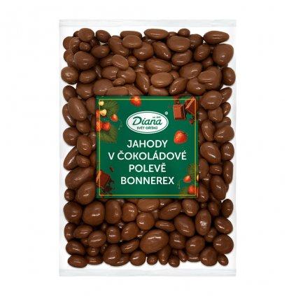 Jahody v čokoládové polevě bonnerex 1kg
