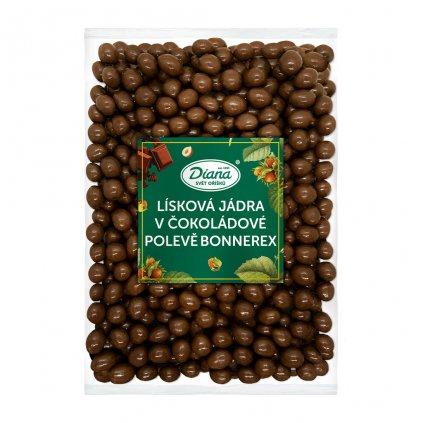 Lísková jádra v čokoládové polevě bonnerex 1kg
