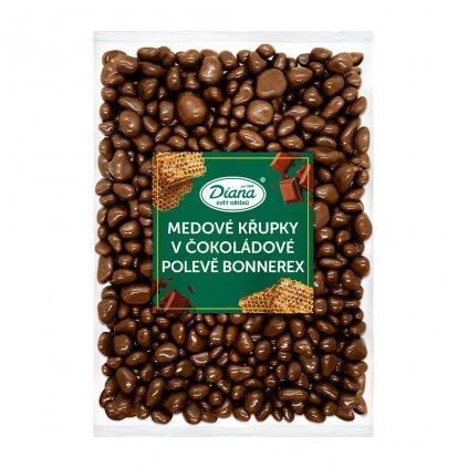 Medové křupky v čokoládové polevě bonnerex 1kg