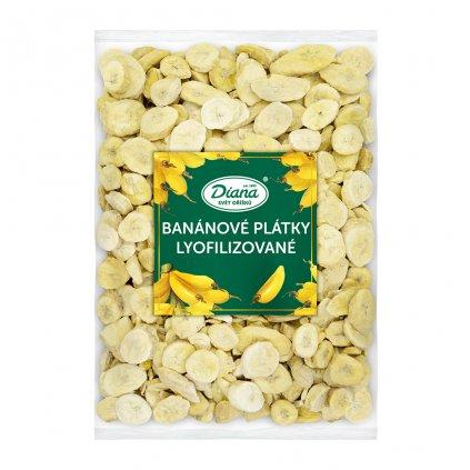 Banánové plátky lyofilizované