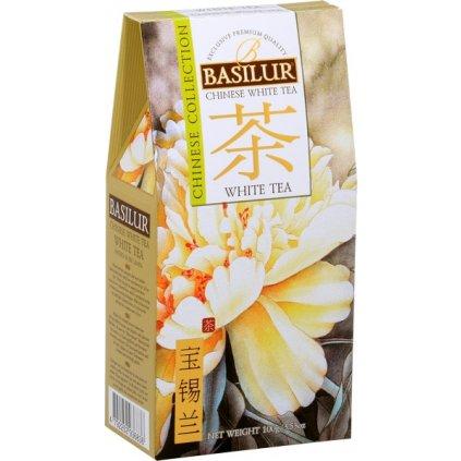 Basilur chinese white tea paír