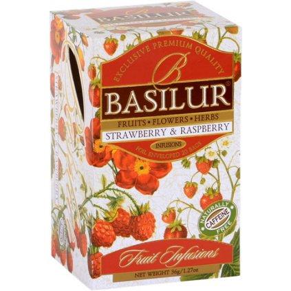 BASILUR Fruit Strawberry & Raspberry přebal 20x1,8g