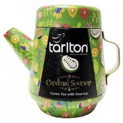 TARLTON Tea Pot Cardinal Soursop Green Tea plech 100g
