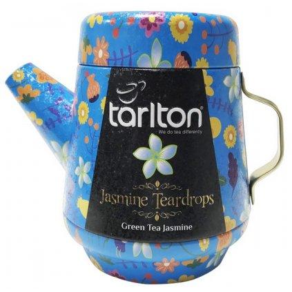 TARLTON Tea Pot Jasmine Teardrops Green Tea plech 100g