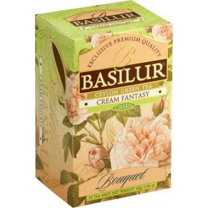 basilur bouquet cream fantasy přebal