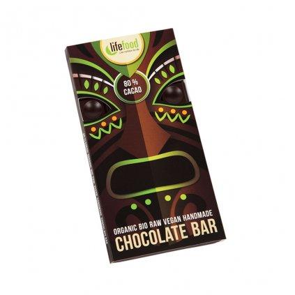 Lifefood Čokoláda velká BIO RAW 80 % kakaa 70g