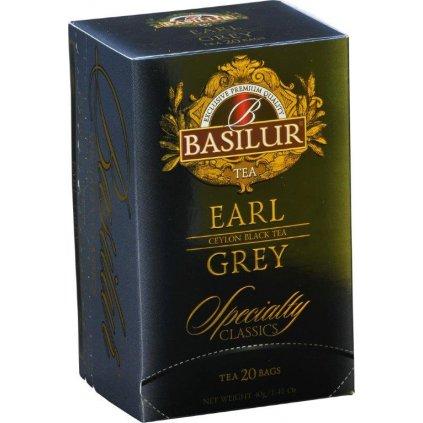 BASILUR Specialty Earl Grey přebal 20x2g
