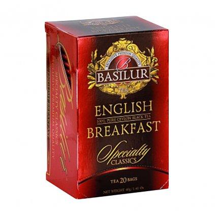 BASILUR Specialty English Breakfast přebal 20x2g