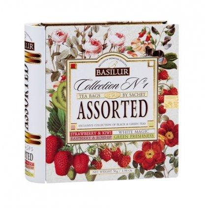 BASILUR Book Assort 32 No.1 plech 32 gastro sáčků