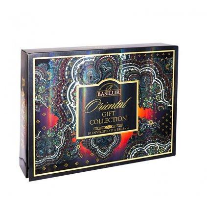 BASILUR Oriental Assorted papírová kazeta 60 gastro sáčků