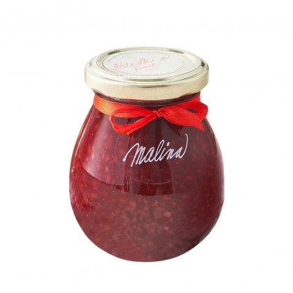 Marmelády s příběhem Malinový extra džem výběrový speciální 280g diana company