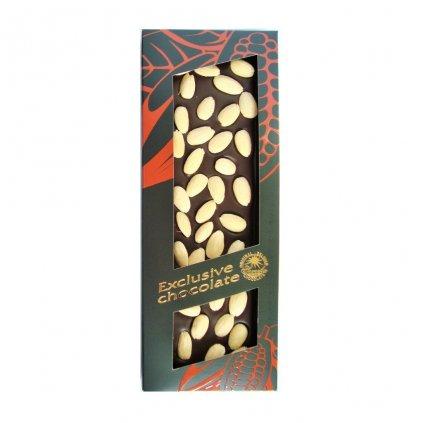 T severka Tabulková čokoláda s mandlemi hořká 150g