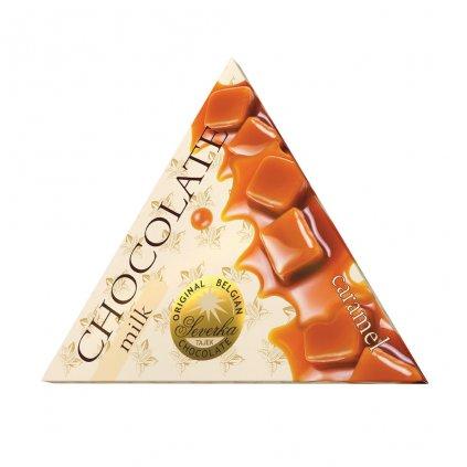 T severka trojuhelníčky karamelová čokoláda 50g