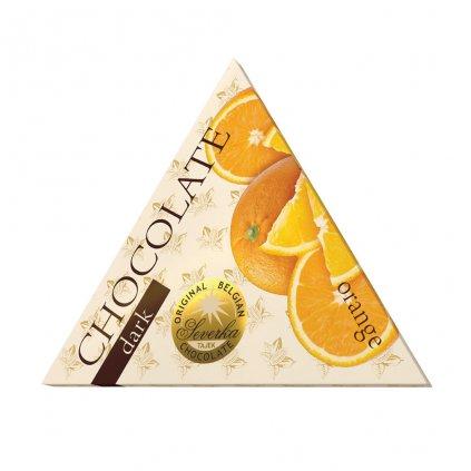 T severka trojuhelníčky hořké s pomerančem 50g