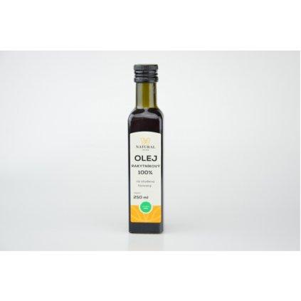 Natural olej rakytníkový za studena lisovaný 250ml