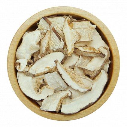 Houževnatec jedlý - Shiitake - sušené plátky 100g