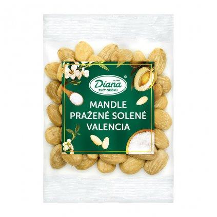 Mandle pražené solené Valencia exclusive 100g