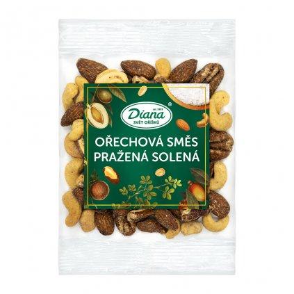Ořechová směs pražená solená 100g