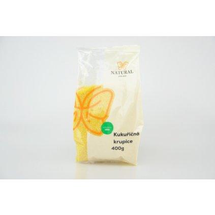 Natural krupice kukuřičná 400g
