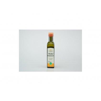 Natural olej makový za studena lisovaný 250ml