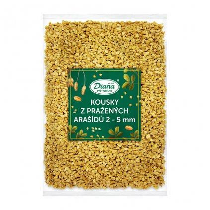Kousky z pražených arašídů 2 5 mm