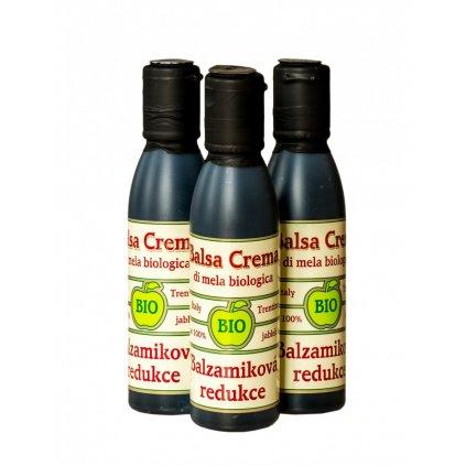 BOHEMIA OLEJ BIO balzamiková redukce Balsa Crema (Jablečné krémové balzamiko 220 g) 250 ml