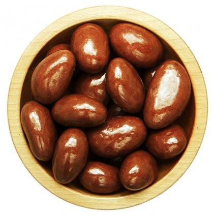 para ořechy v polevě z mléčné čokolády 100g diana company