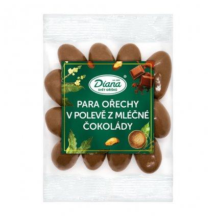 Para ořechy v polevě z mléčné čokolády 100g