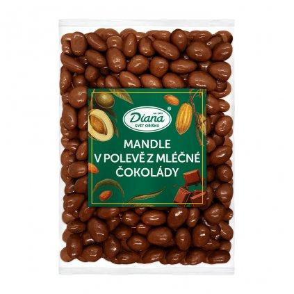 Mandle v polevě z mléčné čokolády 500g