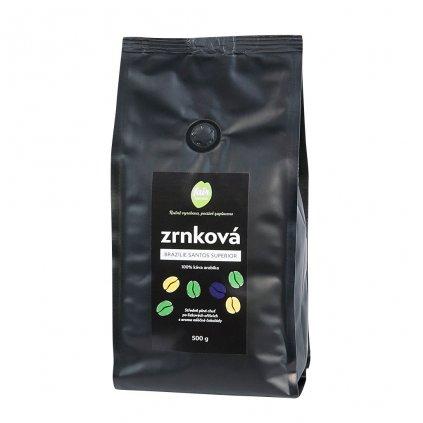 Fair Trade Centrum Zrnková káva Brazílie Santos Superior 500g diana company