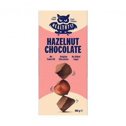 HealthyCo Chocolate - oříšková 100g