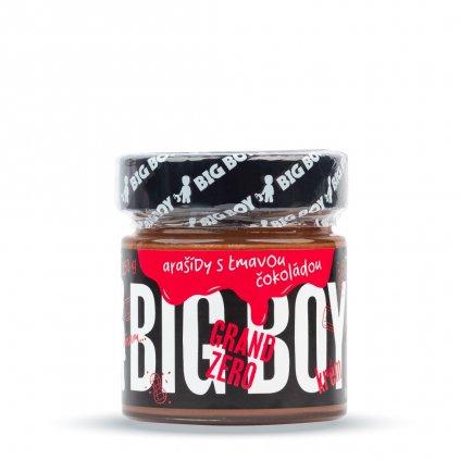 Big Boy Grand Zero krém s tmavou čokoládou 250g