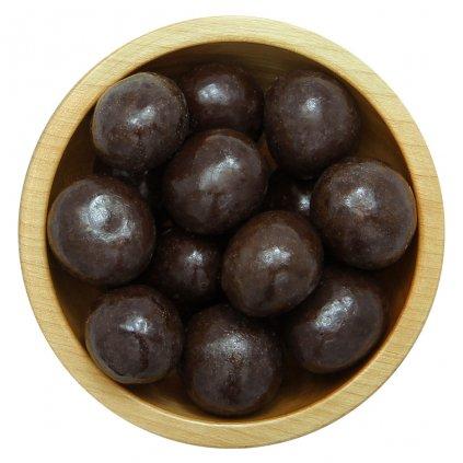 Jahody mrazem sušené v hořké čokoládě 100g