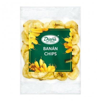 banán chips 100g diana company