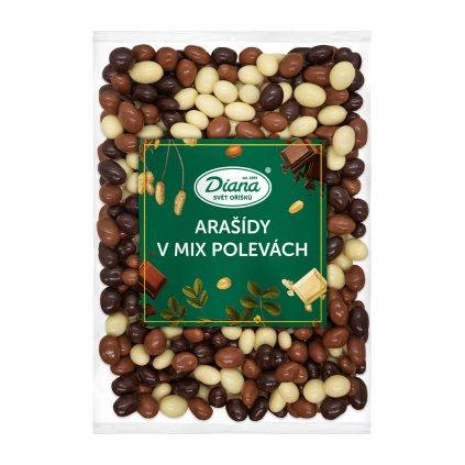 Arašídy v mix polevách 500 g diana company