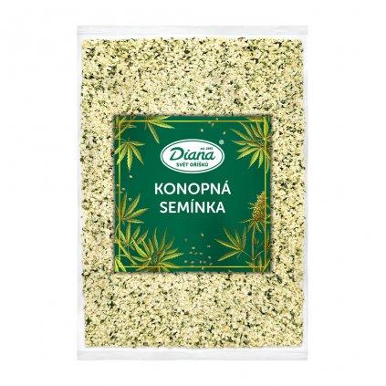 Konopná semínka 500 g diana company