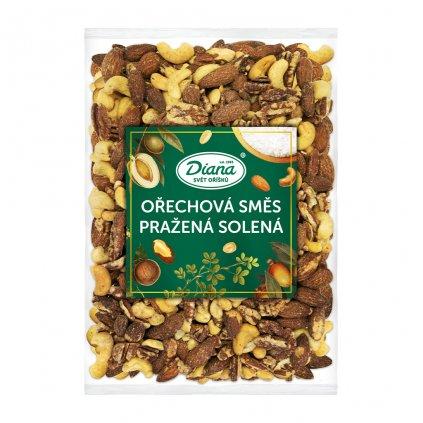 Ořechová směs pražená solená 500 g diana company