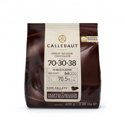 Barry Callebaut Čokoláda hořká 70,5% 400g