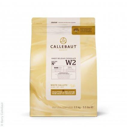 Barry Callebaut Čokoláda bílá 28% 2,5kg