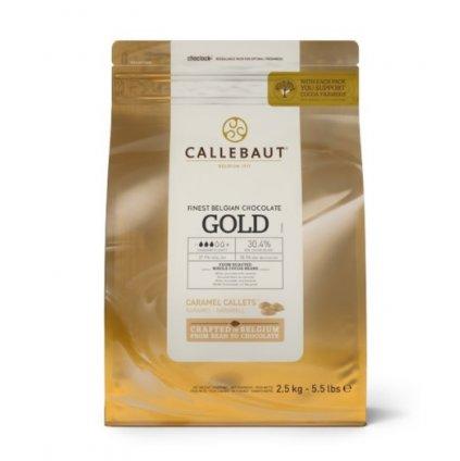 Barry Callebaut Čokoláda gold 30,4% 2,5kg