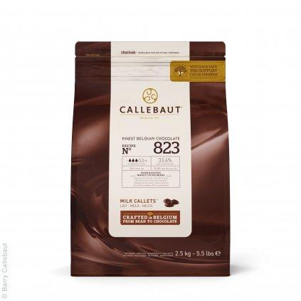 Barry Callebaut Čokoláda mléčná 33,6% 2,5kg
