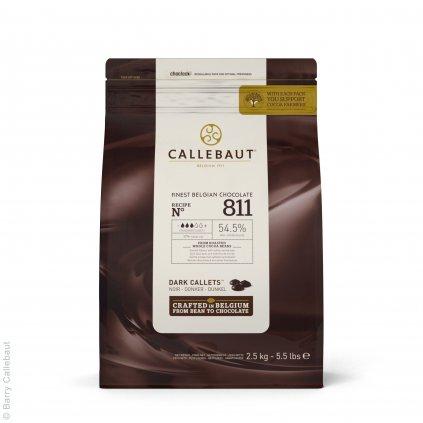 Barry Callebaut Čokoláda hořká 54,5% 2,5kg