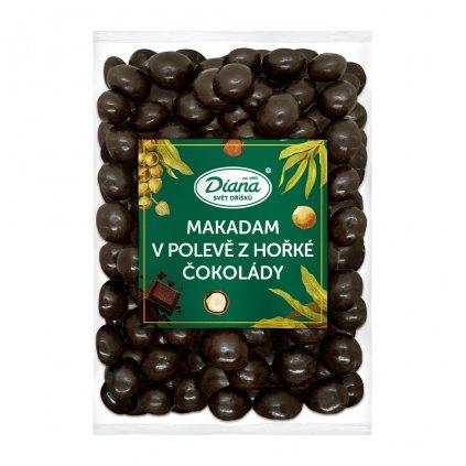 Makadam v polevě z hořké čokolády 500g